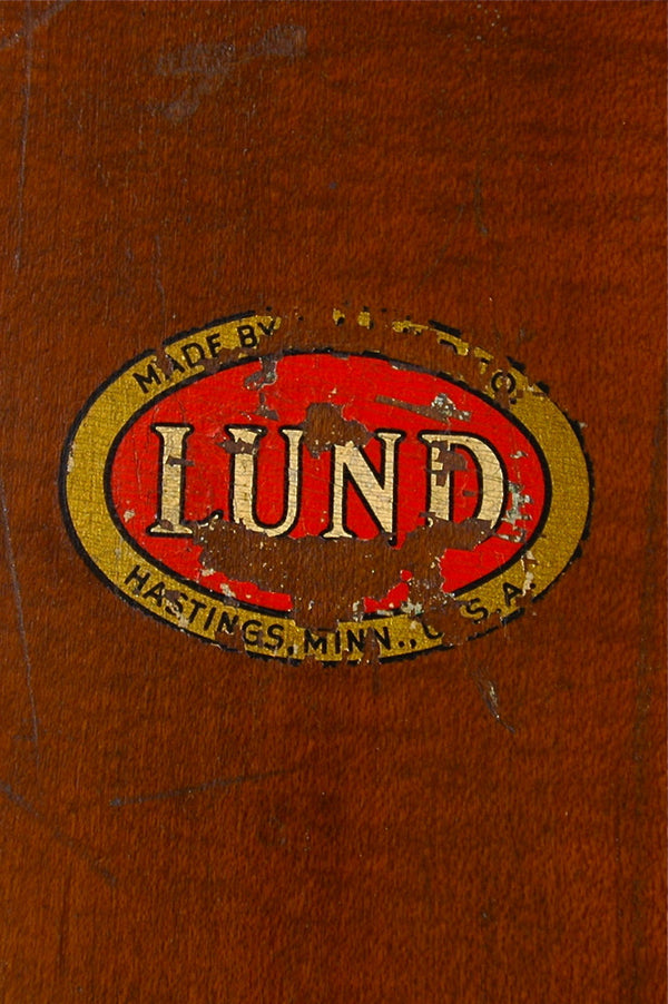 Antique Lund Skis