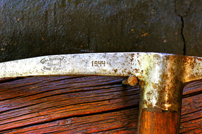 Antique Ice Axe - Swiss Military WWII