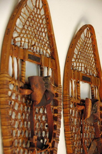 Vintage James W. Brine Co. Snowshoes