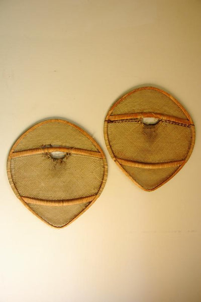 Antique Native American Indian Snowshoes - Bearpaw