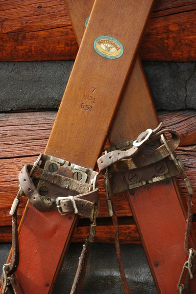Antique Northland Skis