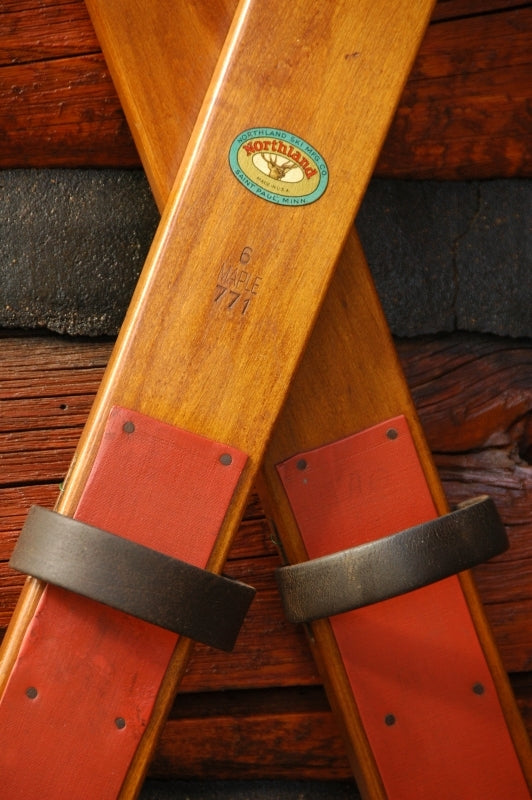 Antique Skis - Northland Maple Skis