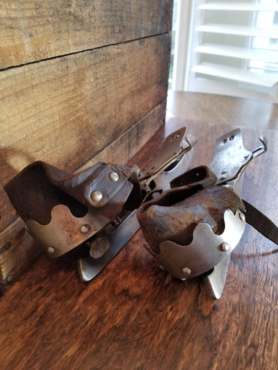 Antique Barney & Berry Ice Skates - 1861