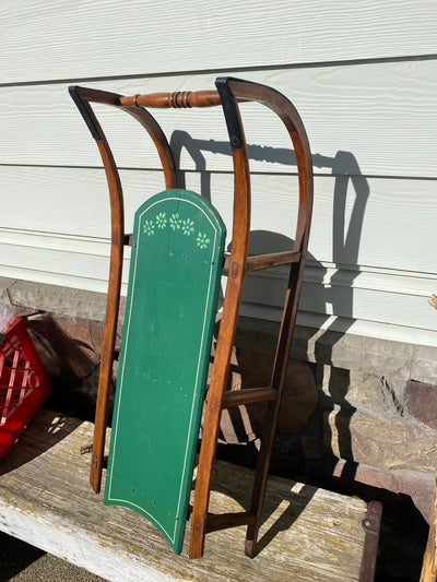 Antique Child's Sled - Paris Mfg