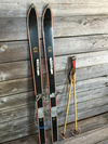 Children's CHAMPION Ski Set- Black, Includes Poles
