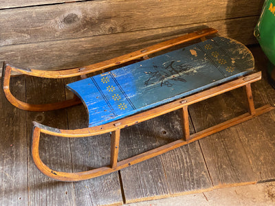 Vintage Child's Sled - Paris Mfg
