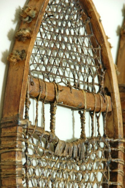 Eastern Subartic Antique Indian Snowshoes