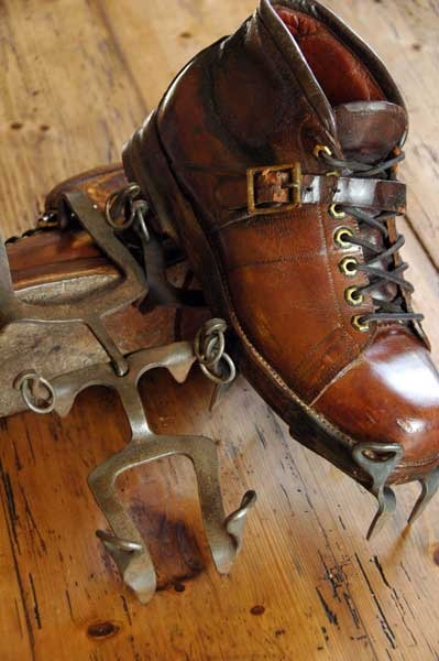 Vintage French Mountaineering Crampons Vintagewinter