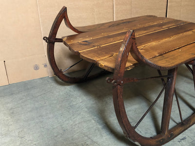 Vintage Sleigh Table