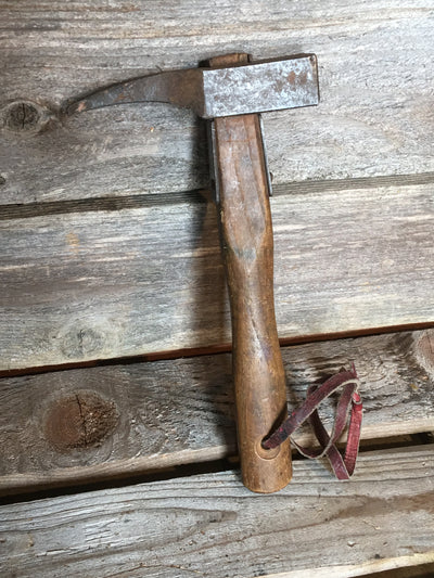 Vintage Wood Handle Piton Hammer
