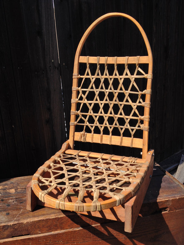 Folding Fishing Chair - Snowshoe style