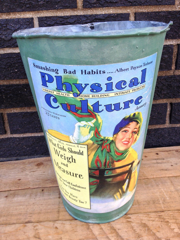 Vintage Maple Sap Can - Physical Culture
