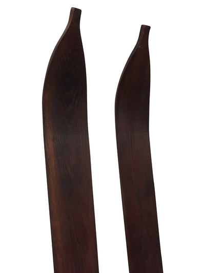 Replica Downhill Skis - Hickory