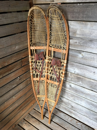 AFH Wallingford VT Vintage Military Snowshoes - WWII