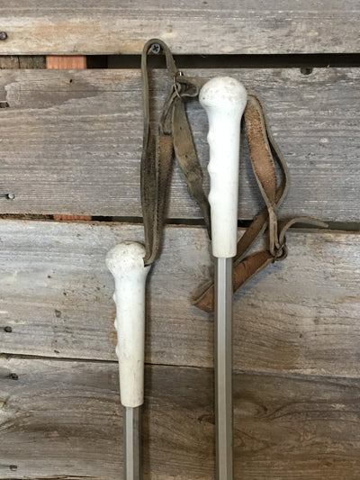 Vintage Adjustable Ski Poles - C.A Lund - US