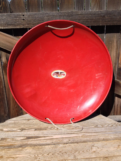 Vintage Flexible Flyer Snow Saucer