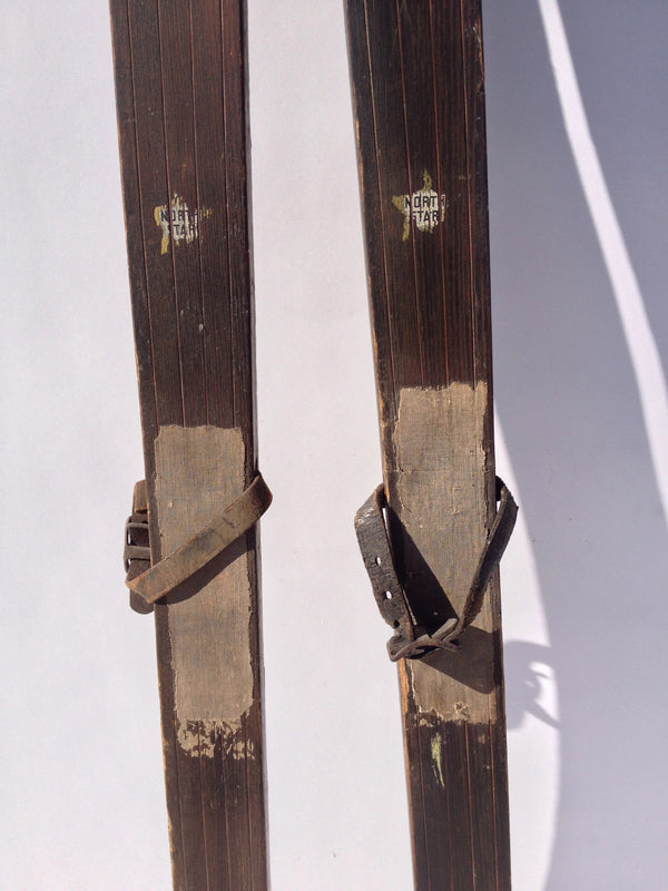 Old Wooden Skis - Northstar Youth Skis