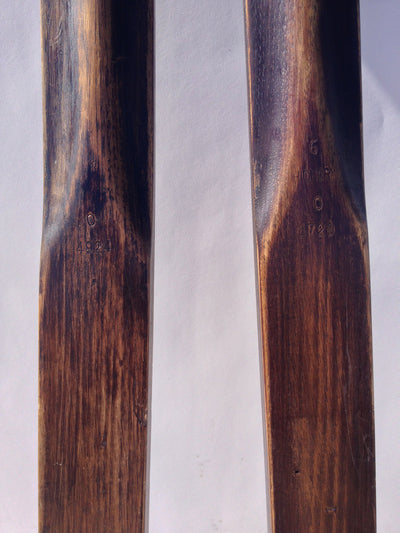 Vintage Skis - Northland Northbilt Hickory Skis