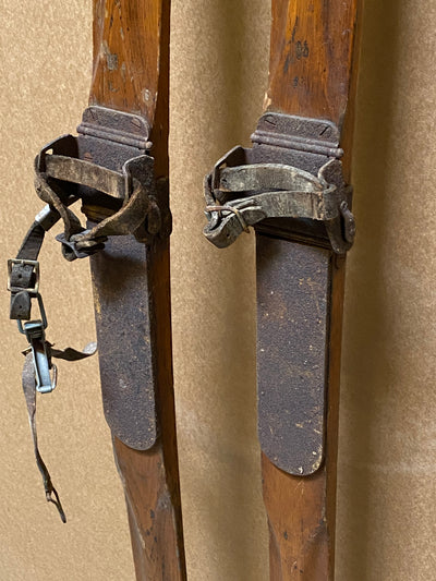 Vintage L.L.Bean Skis - Freeport Maine
