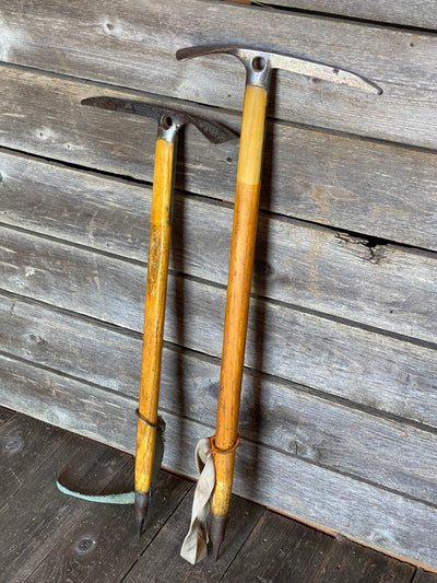 Unique Pair of Vintage Mountaineering Axes