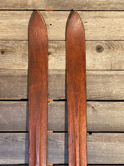 Vintage Skis - Rounded Tip 1930s