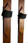 Antique Wooden Paris Manufacturing Co. Skis