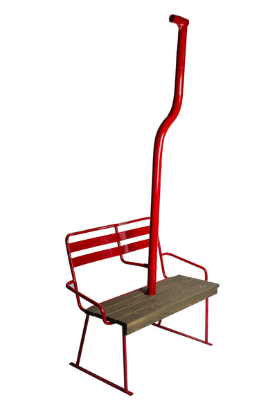 Vintage Magic Mile - Mt Hood Chairlift Bench