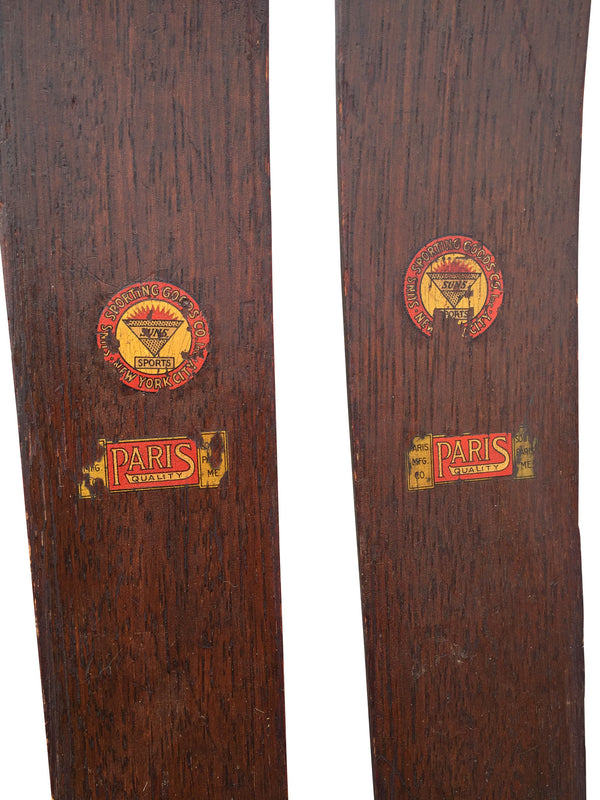 Paris Manufacturing Downhill Skis
