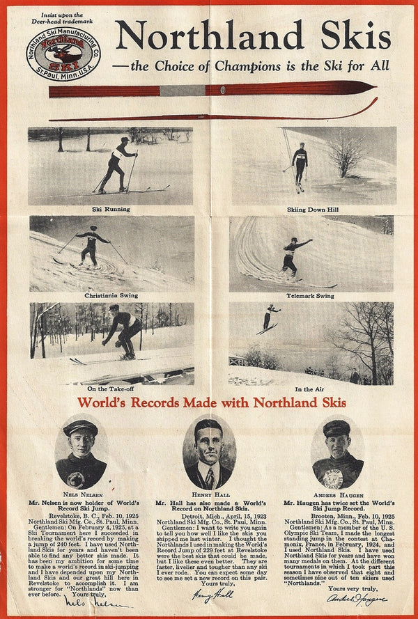 Northland Ski Manufacturing Company Brochure
