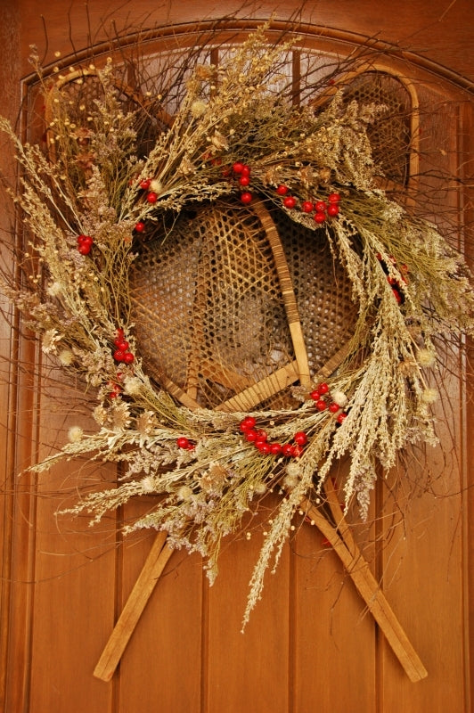 Snowshoe Wreath - Eastern Sage