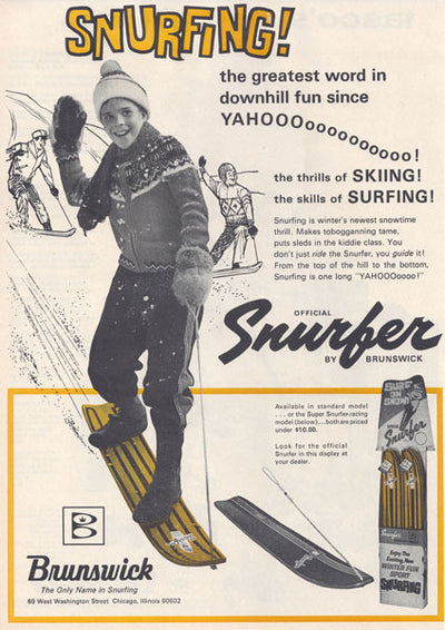 Vintage Snowboard - Skifer by Nash