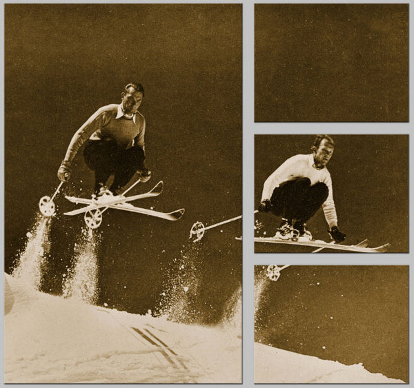 Vintage Ski Photo - The Big E