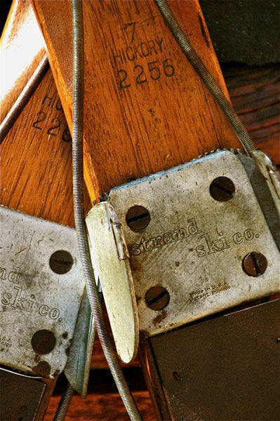 Vintage Skis - Northland Hickory Skis