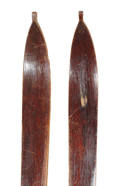 Vintage Skis - Pointed Tip