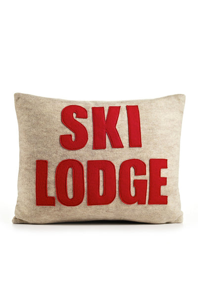 Ski Lodge Accent Pillow