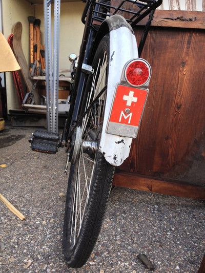 Vintage Swiss Police Bicycle 1940s-1950s
