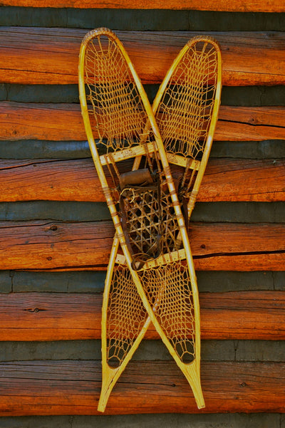 Vintage C.A. Lund 10th Mountain Division Military Snowshoes