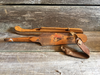 Classic Vintage Wooden Ice Skates Made in Netherlands