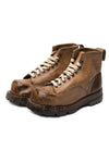 Vintage leather 10th Mountain Division Ski Boots