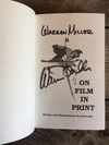 "Signed Copy of Warren Miller ""On Film In Print"""