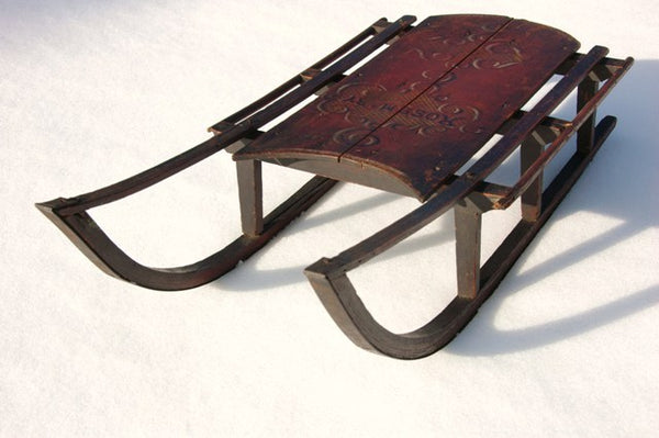 Antique Childrens Rosemary Sled Vintagewinter