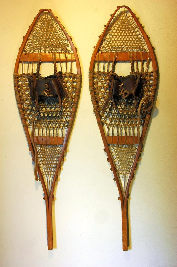 Antique Native American Snowshoes
