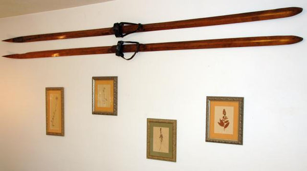 Antique Swedish, Norwegian, Scandinavian Skis