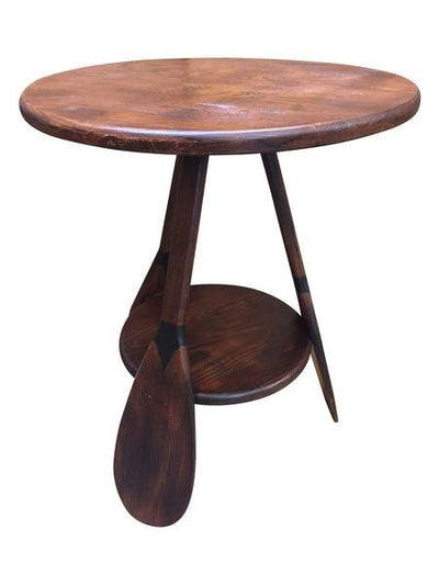 Canoe Paddle End Table