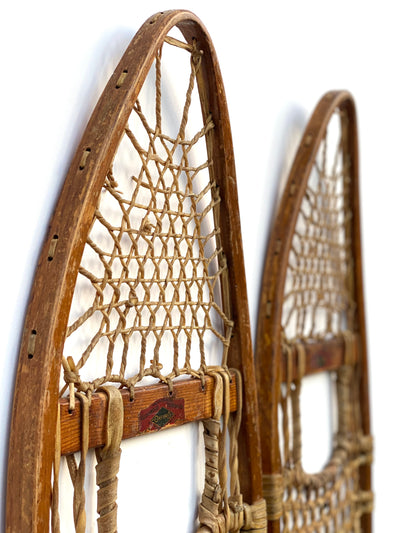 Antique Ellingwood Turning Co. Oxford Snowshoes