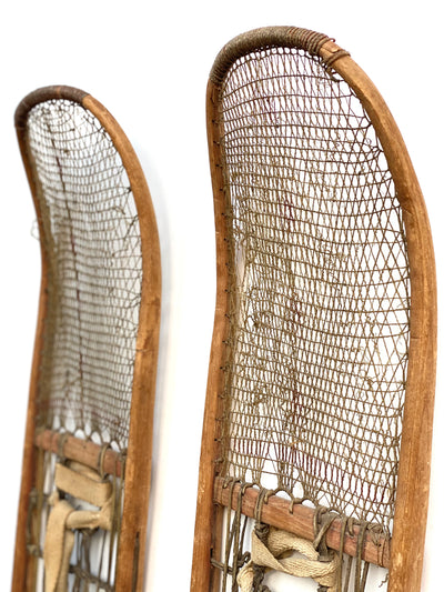 Antique Athapasca / Athabaskan Native First Nation Indian Snowshoes