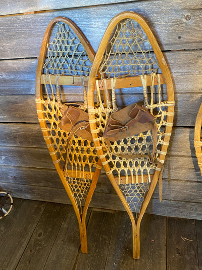 Vintage Snowshoes for Wall Decor