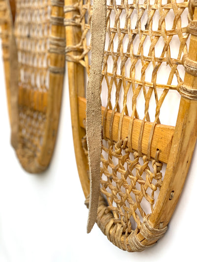 Vintage Canadian Bearpaw Snowshoes