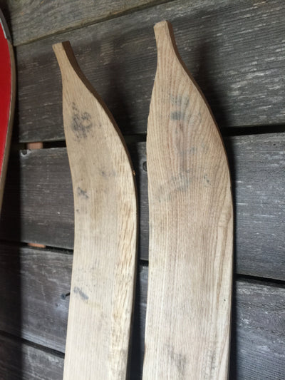 Unfinished Skis for Guestbooks or other DIY Projects