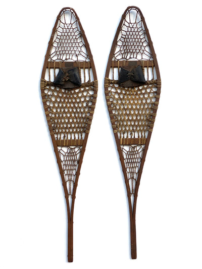 Wooden Abercrombie and Fitch Snowshoes